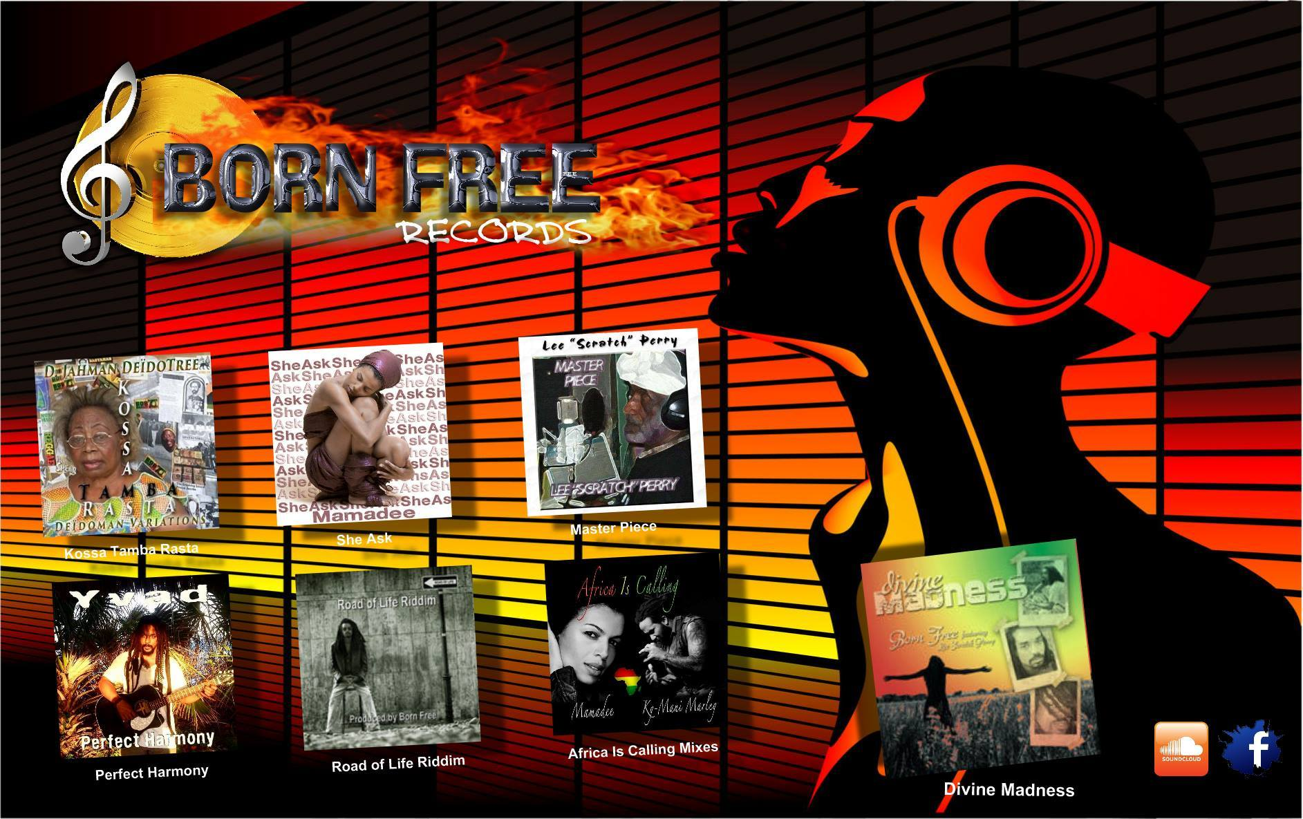 Born Free Records banner